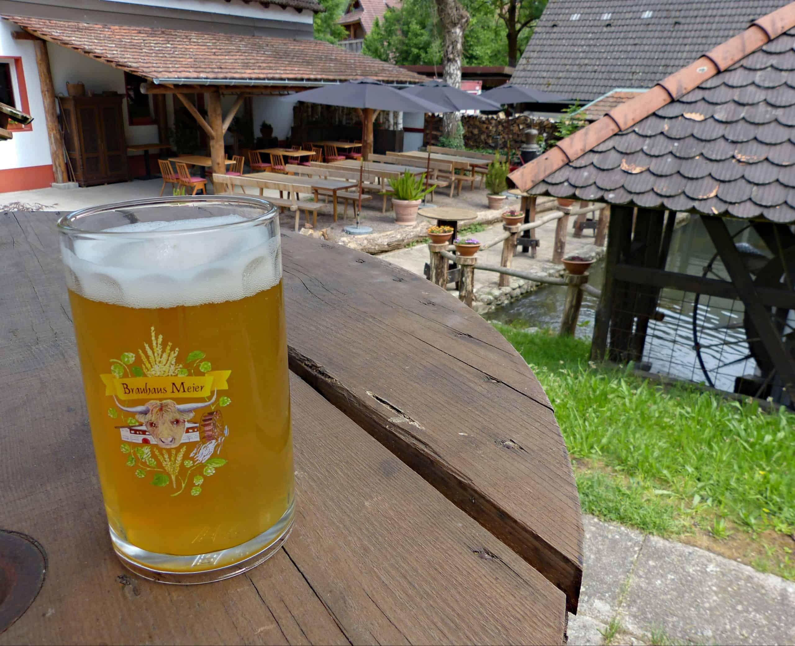 Braustube & Biergarten geöffnet